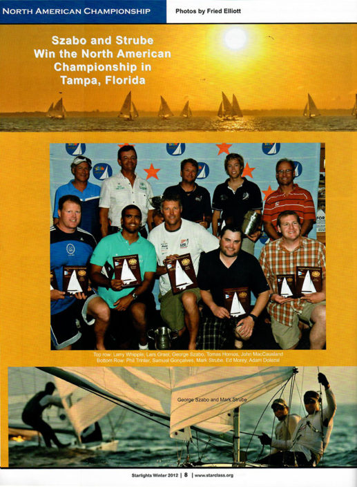 North American Championship artcile about strube winning in Florida