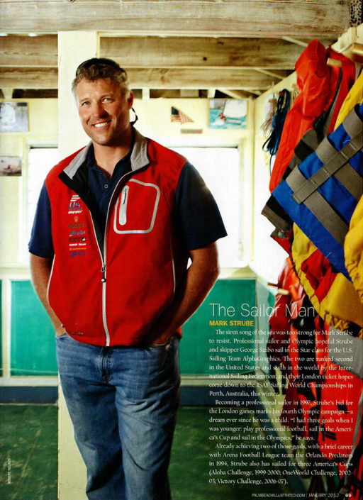 the sailor man palm beach illustrated article mark strube