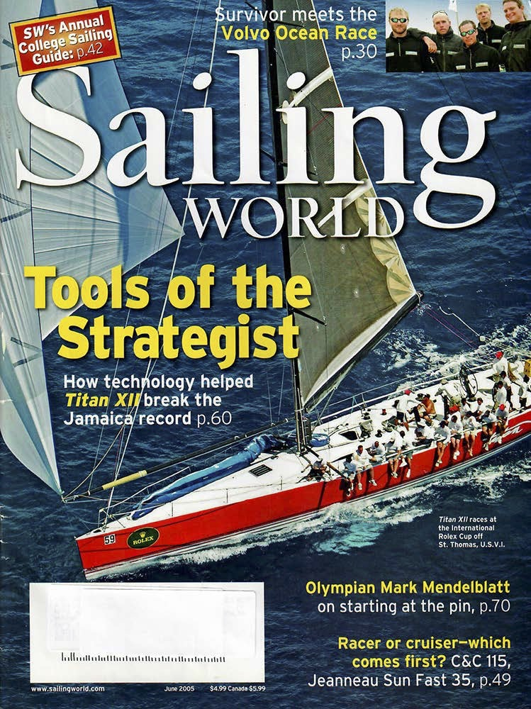 Sailing world tools of stategist magazine cover